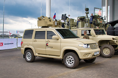 UAZ Patriot with RWS
