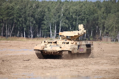 BMPT Object 199 with BMPT-72 launchers