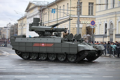 BMPT serial version for Russian Army