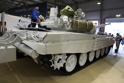 Modernised T-72B1 White Eagle