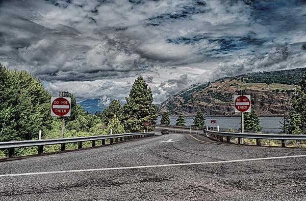 Columbia Gorge Exit Ramp