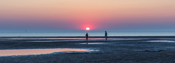 Sunset at Old Hunstanton