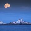 Nubble Moonrise