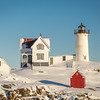 Winter at the Nubble