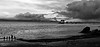 Mumbles Pier, Wales, At Sundown
