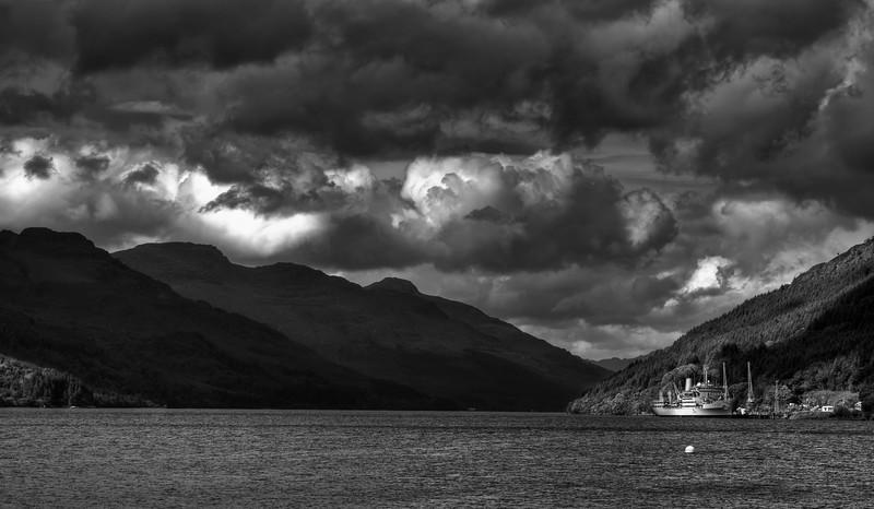 Loch Long By Moonlight