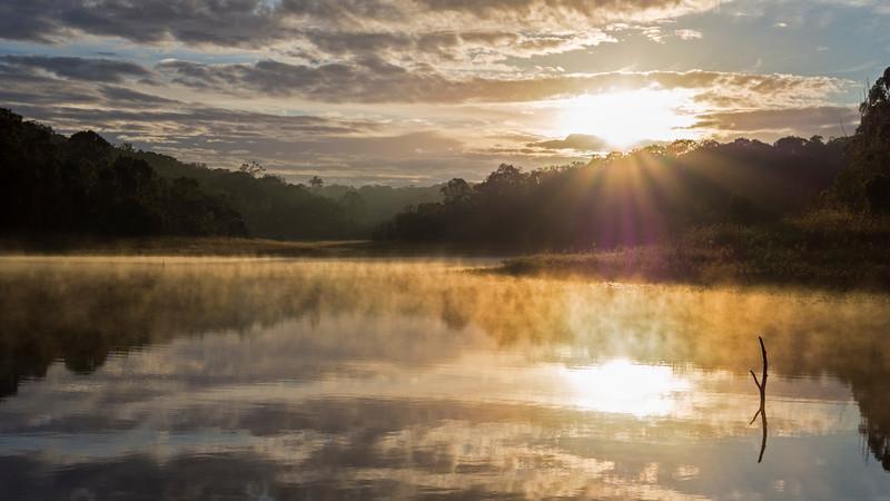 Lake Samsonvale sunrise (3)
