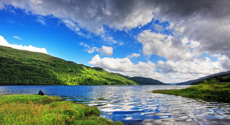 Solitude at Loch Long Scotland