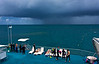 Approaching Storm, Great Barrier Reef, Whitsunday Isles, Queensland