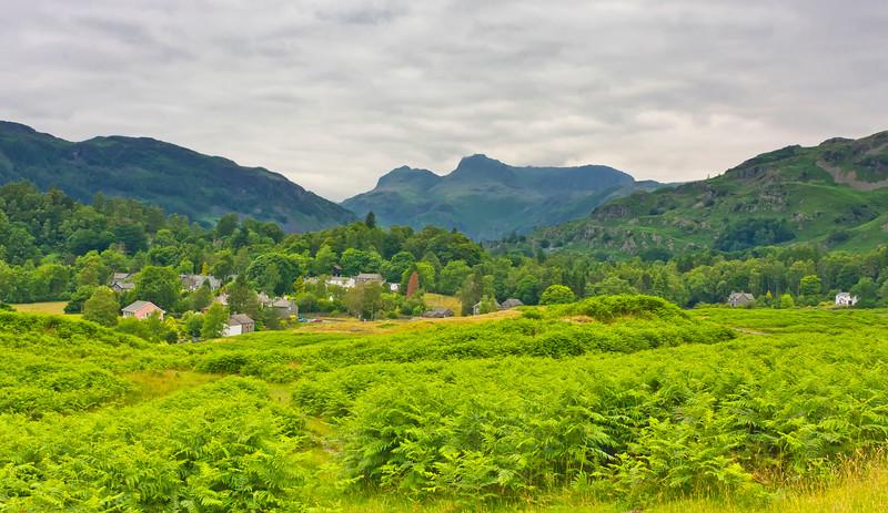 Chapel Stile and Langdales, Lake District (2)