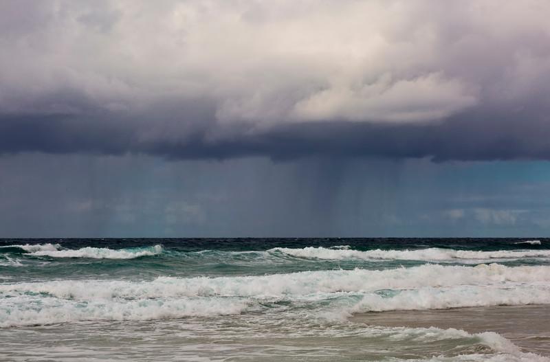 Weather System Sunshine Beach, Sunshine Coast, Queensland, Australia