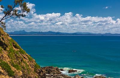 Lone Kayak, Byron Bay, NSW