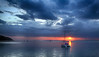 Clearing Storm at Sunset - Hervey Bay Queensland