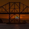 Carquinez Bridge Sunset