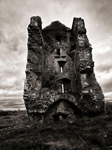 Cloondooan Castle Ruins, County Clare, May 2010