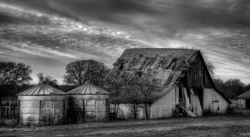 Barn near Justin, Texas (November 2013)
