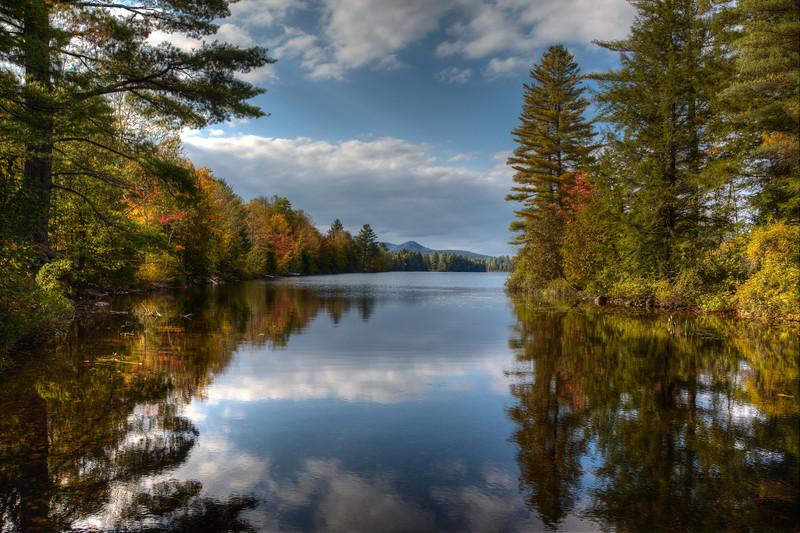 Ricker Pond, Groton State Forest, Vermont (September 2012)