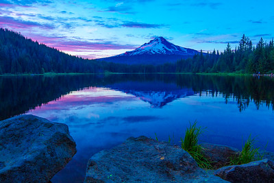 Mt Hood and Trillium Lake #3