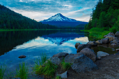 Mt Hood and Trillium Lake #2