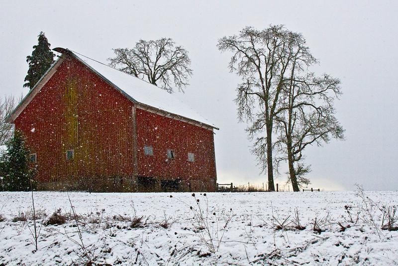 Red Barn off Highway 26