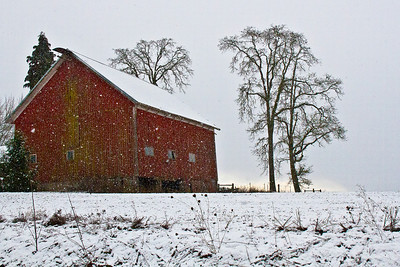 Red Barn off Highway 26