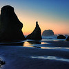 Bandon Beach at Sunset #2