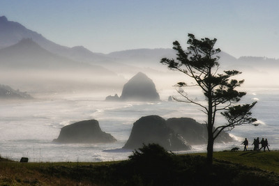 View from Ecola State Park, Oregon