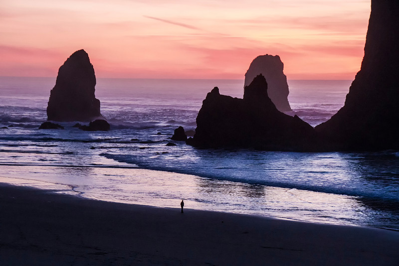 Sunset at Cannon Beach #3