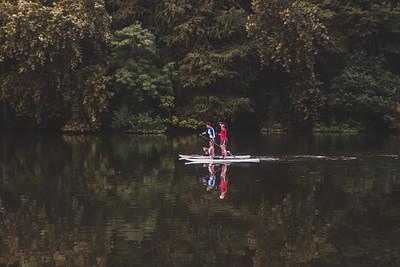 Stand Up Paddle Board at Lake Austin, Texas