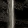 Waterfall in B&W