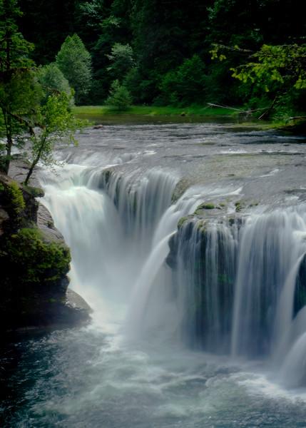 Lewis Falls in Washington