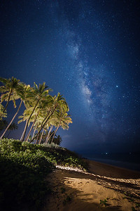 Milky Way Over Kihei