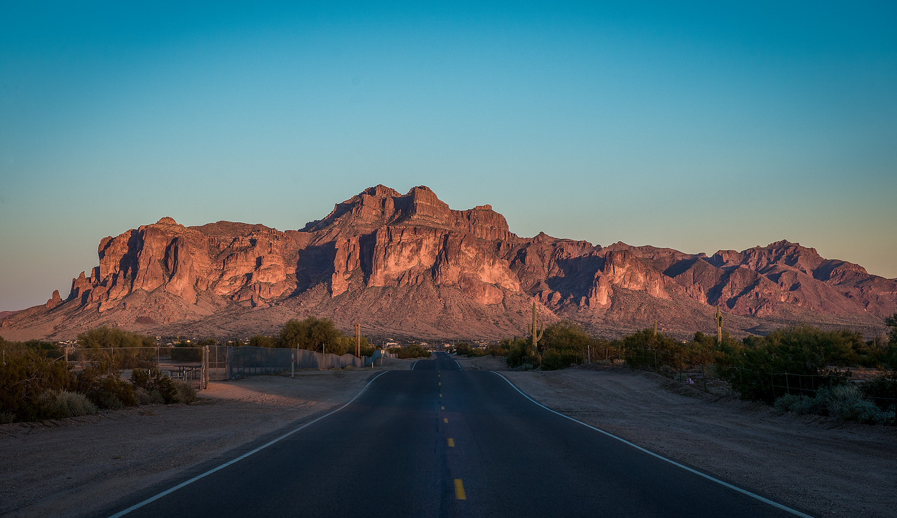 Superstition Mountain Road