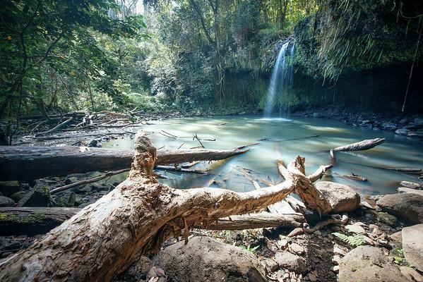Twin Falls Waterfall