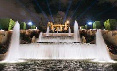 National Plaza at Night Close