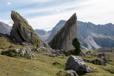 Alpe di Cisles, Seceda - II