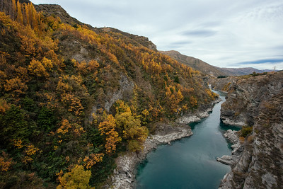 Kawarau River from Bridge