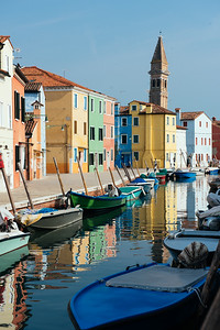 Reflections in Burano - II