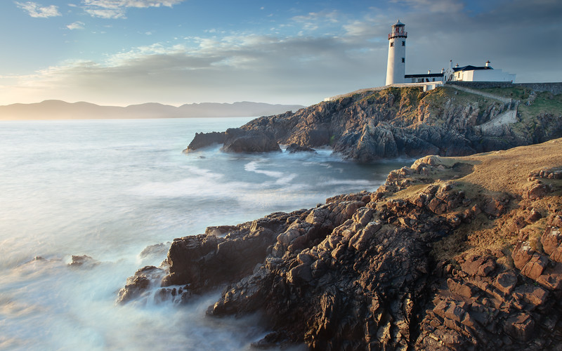 Fanad Head Lighthouse from the Edge