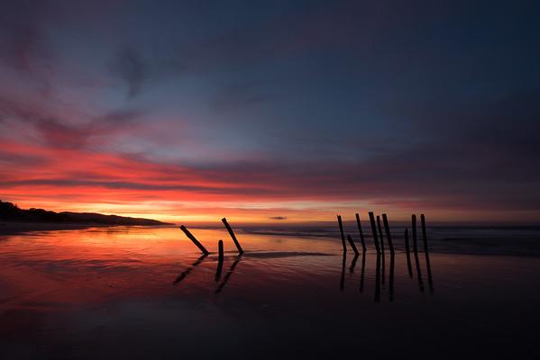 St. Clair Pier at Sunrise