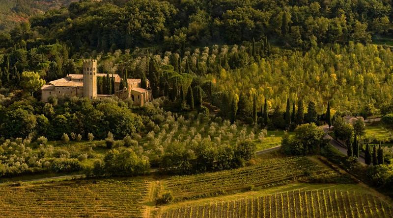 Valley near Orvieto, Italy
