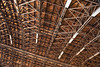 Lakehurst Hangar 6 Long Ceiling Arches