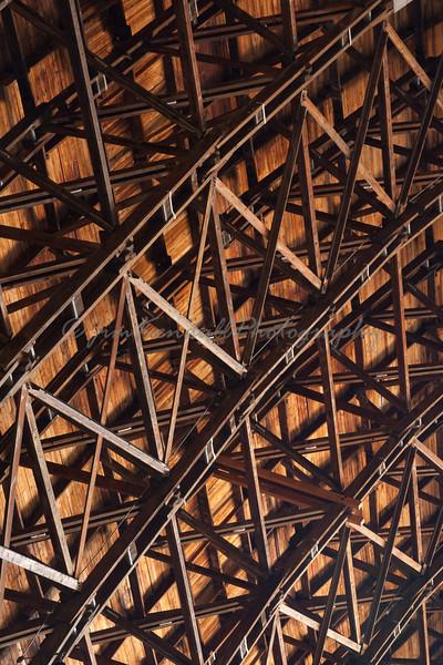 Lakehurst Hangar Ceiling Lattice