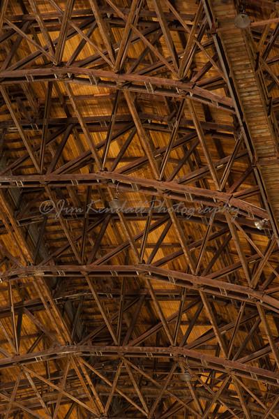 Lakehurst Hangar 6 Ceiling Center