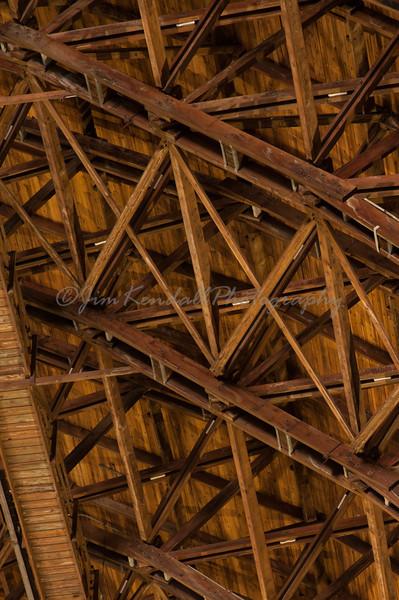 Lakehurst Hangar 6 Ceiling Detail