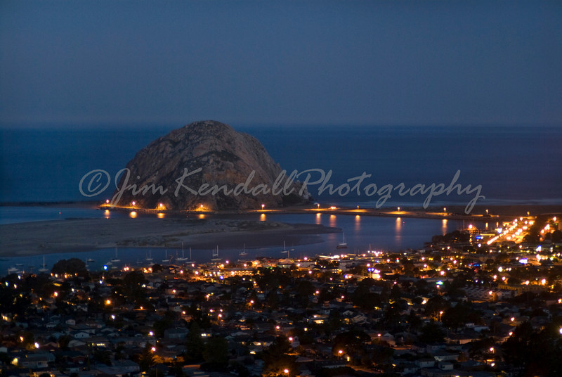 Morro Rock Twilight