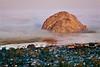 Foggy Dawn at Morro Rock