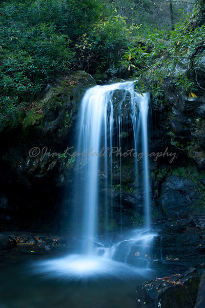 Smoky Mountains' Grotto Falls