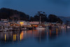 Morro Bay Waterfront at Dusk