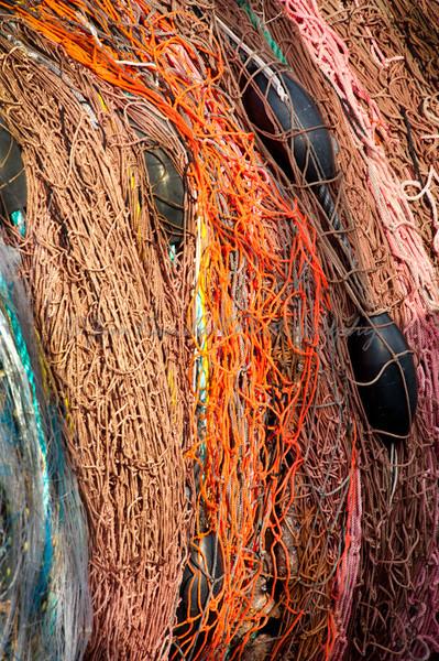 Fishing Nets on a Reel